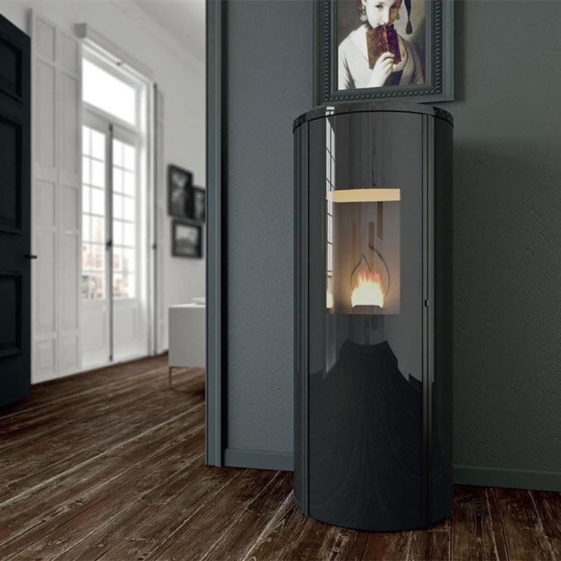 poele a granule design po les granul s pellets chemin es c line actualit s chemin e et po le. Black Bedroom Furniture Sets. Home Design Ideas